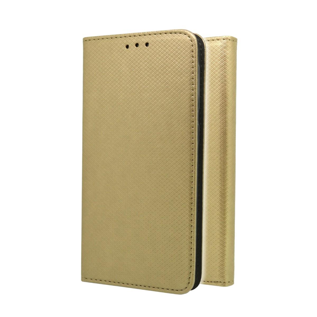 Θήκη Book Magnetic Glam για Xiaomi Redmi Note 9s / Redmi Note 9 Pro / Note 9 Pro Max Χρυσαφί