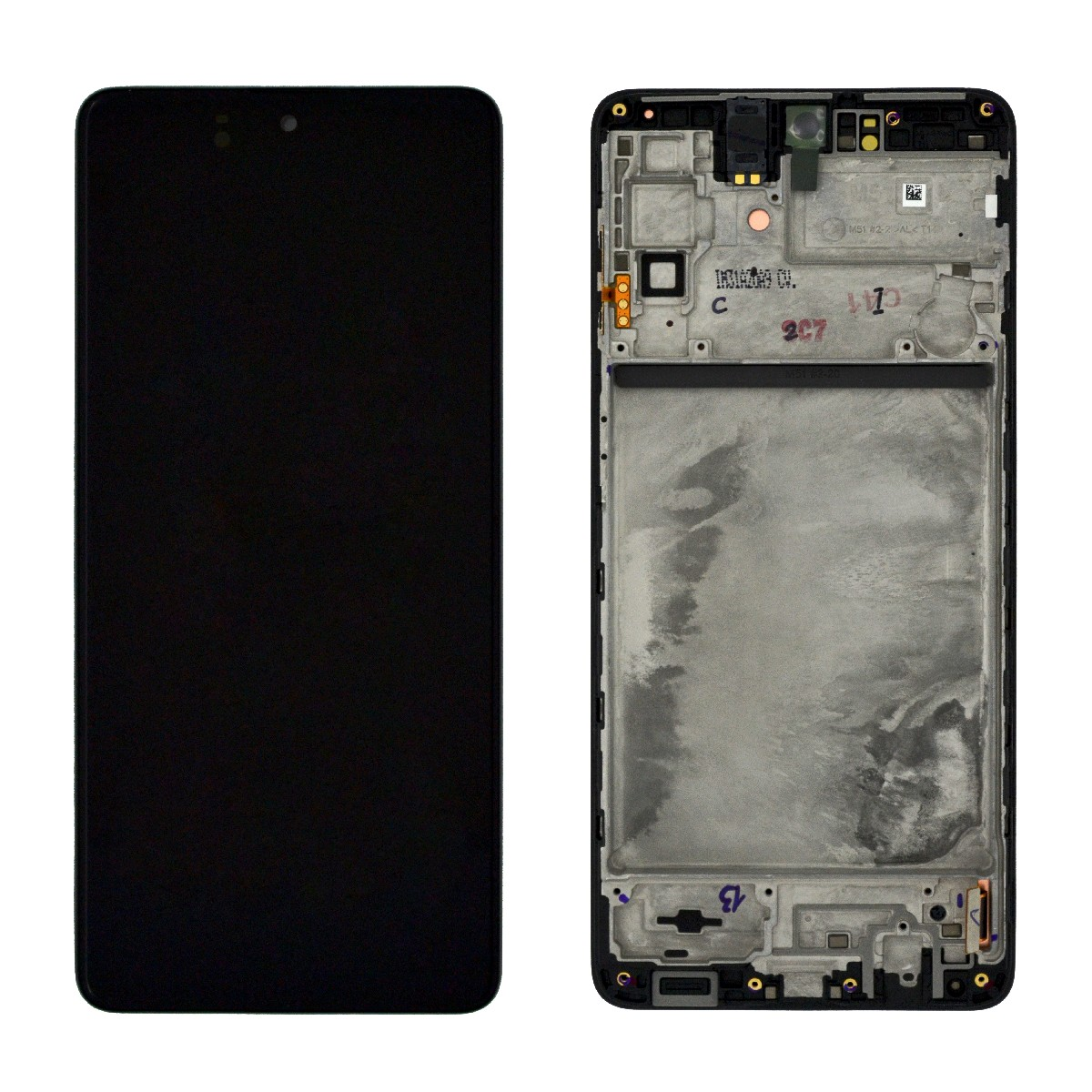 Γνήσια Οθόνη & Μηχανισμός Αφής Samsung SM-M515 Galaxy M51 GH82-24168A/GH82-23568A/2GH82-4167A