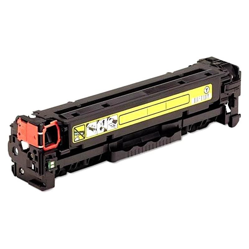 Toner HP CANON Συμβατό CC532A/CE412A/CF382A CRG-718/CRG-118 Σελίδες:2800 Yellow για Color LaserJet Pro 300, Color LaserJet Pro 400