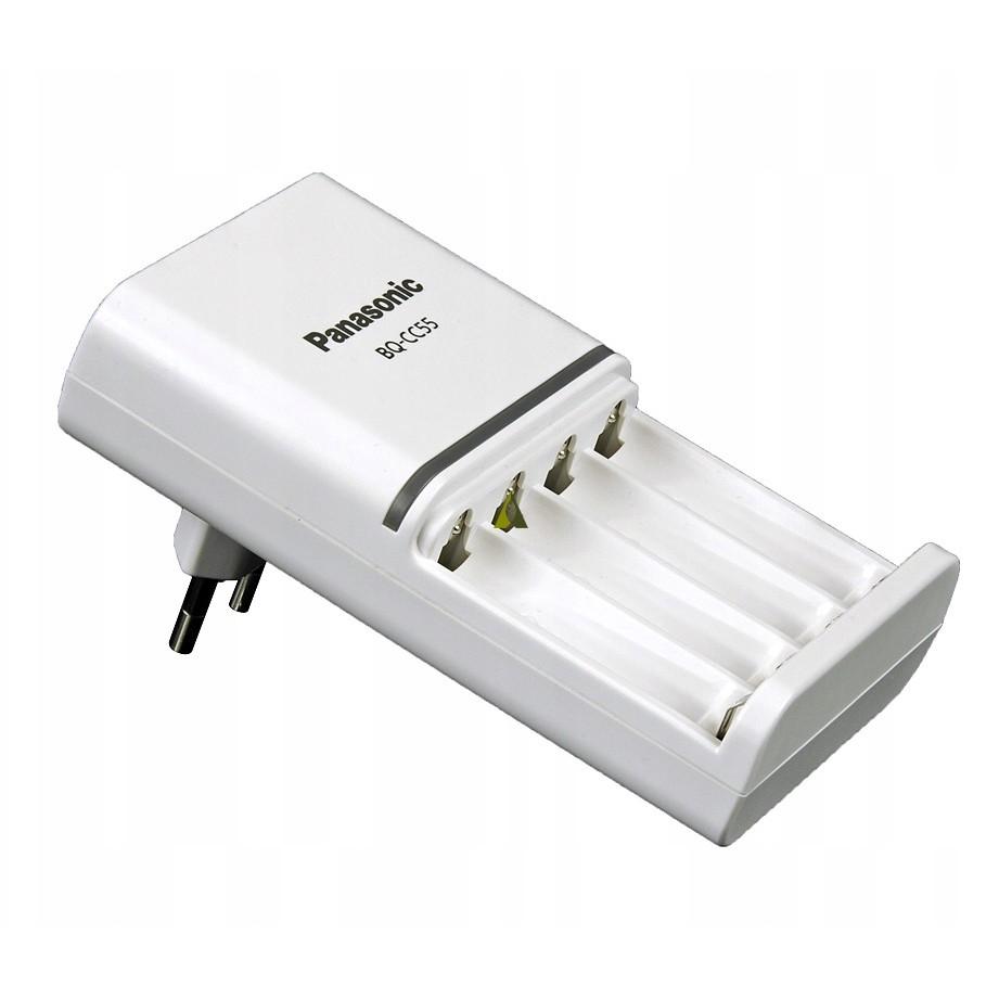 Φορτιστής Μπαταριών Panasonic Eneloop BQ-CC55E Smart & Quick για 4 AA/AAA μπαταρίες