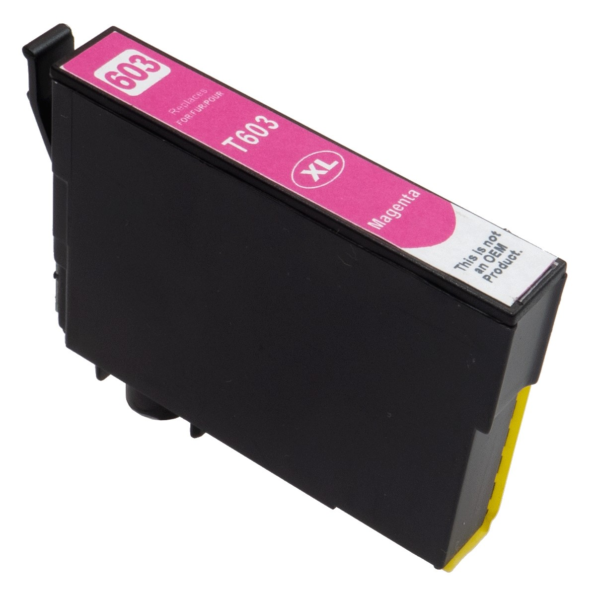 Μελάνι EPSON Συμβατό 603XL C13T03A34010 Σελίδες:350 Magenta για WF, XP, 2100, 2105, 2810DWF, 2830DWF, 2835DWF, 2850DWF WorkForce
