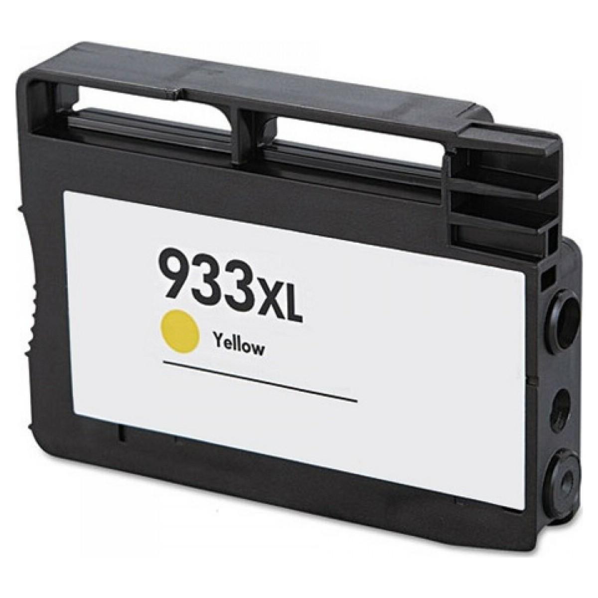 Μελάνι HP Συμβατό 933 XL Y CN056AE Σελίδες:1000 Yellow για Officejet 6100 ePRINTER, 6600 e-AIO, 6700 Premium e-AIO, 7110 Wide Format