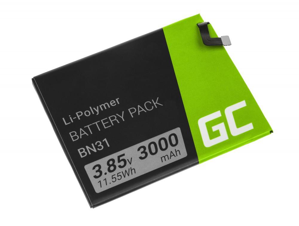 Μπαταρία Green Cell BP100 τύπου Xiaomi Redmi Note 5A BN31 3000 mAh 3.8V