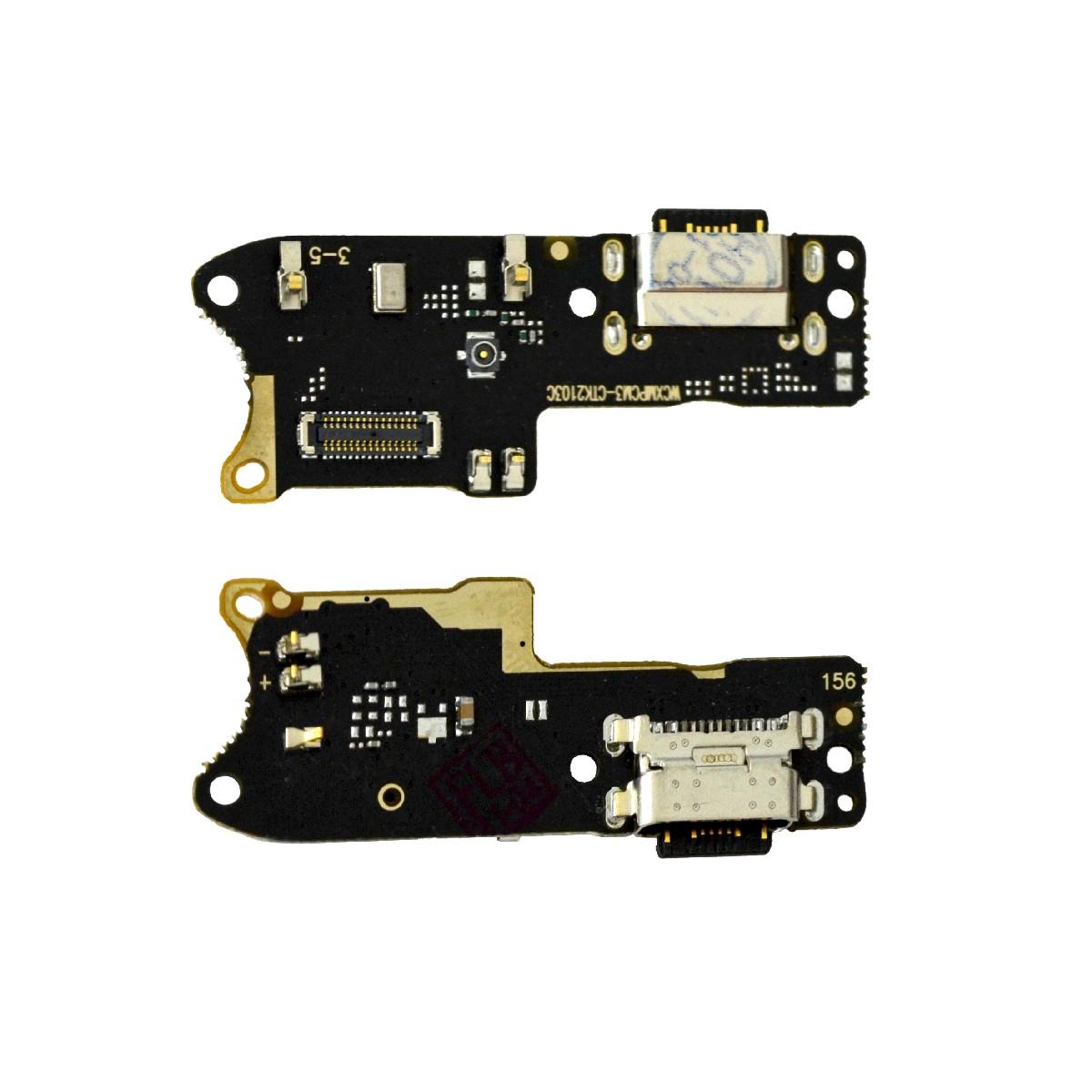 Επαφή Φόρτισης Xiaomi Poco M3 με Μικρόφωνο και Πλακέτα OEM Type A