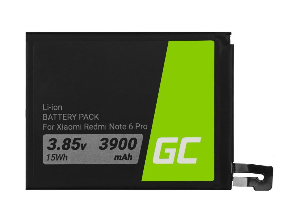 Μπαταρία Green Cell BP127 τύπου BN48 συμβατή με Xiaomi Redmi Note 6 Pro 3010mAh 3.85V