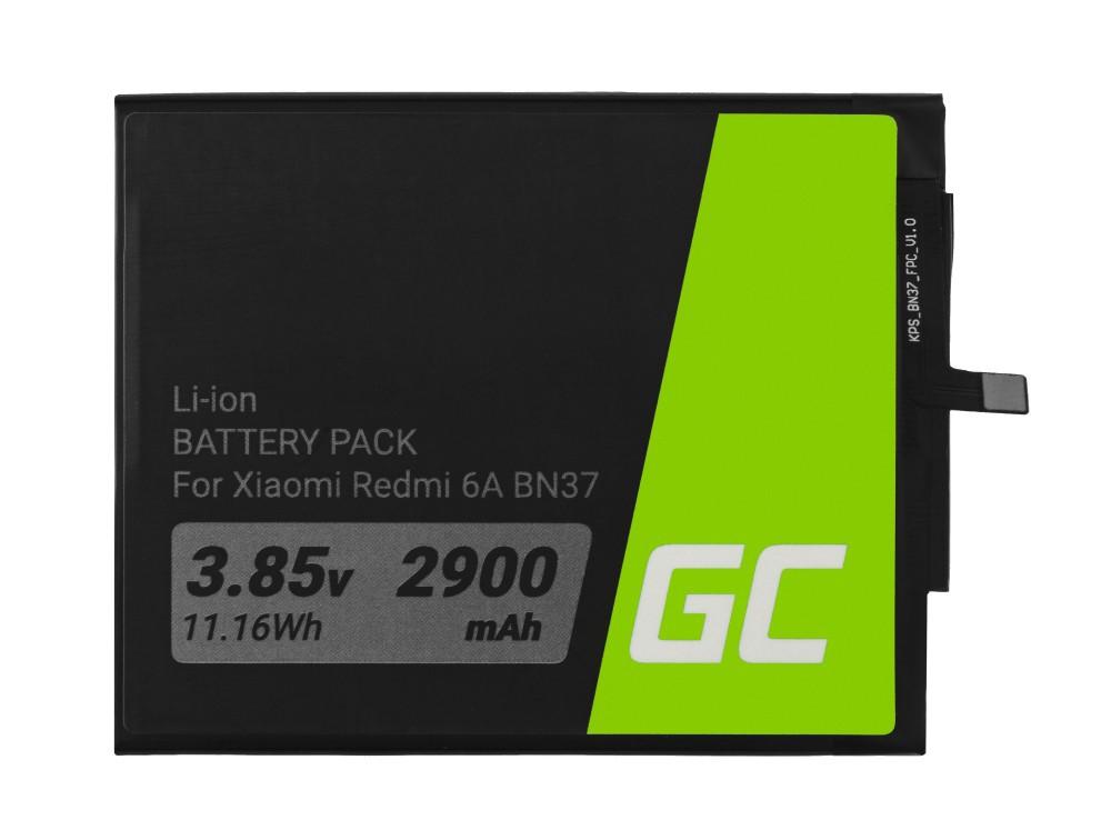 Μπαταρία Green Cell BP132 τύπου BN37 συμβατή με Xiaomi Redmi 6 / Redmi 6A 2900 mAh 3.85V