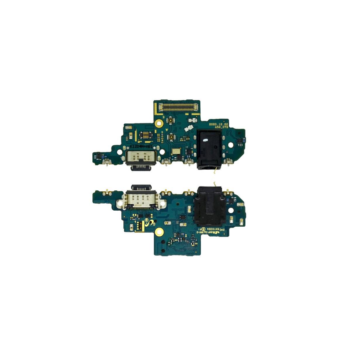 Επαφή Φόρτισης Samsung SM-A526 A52 5G με Πλακέτα, Μικρόφωνο και Επαφή Ακουστικών GH96-14121A Original
