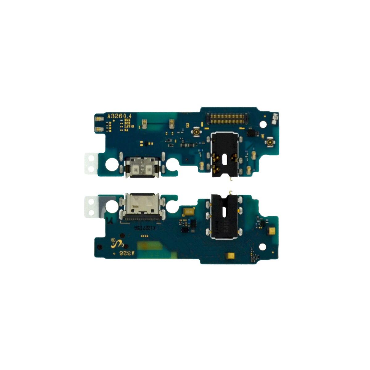 Επαφή Φόρτισης Samsung SM-A326 A32 5G με Πλακέτα, Μικρόφωνο και Επαφή Ακουστικών GH96-14158A Original