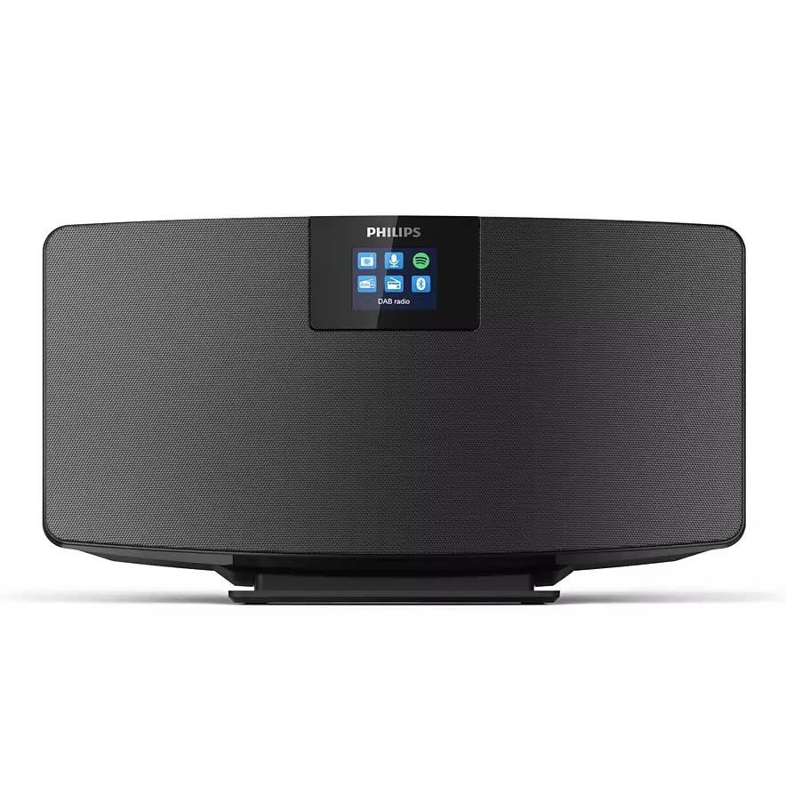 Ηχοσύστημα Micro Ράδιο Philips TAM2805/10 Μαύρο με Spotify Connect, Σύνδεση Bluetooth και Internet Radio