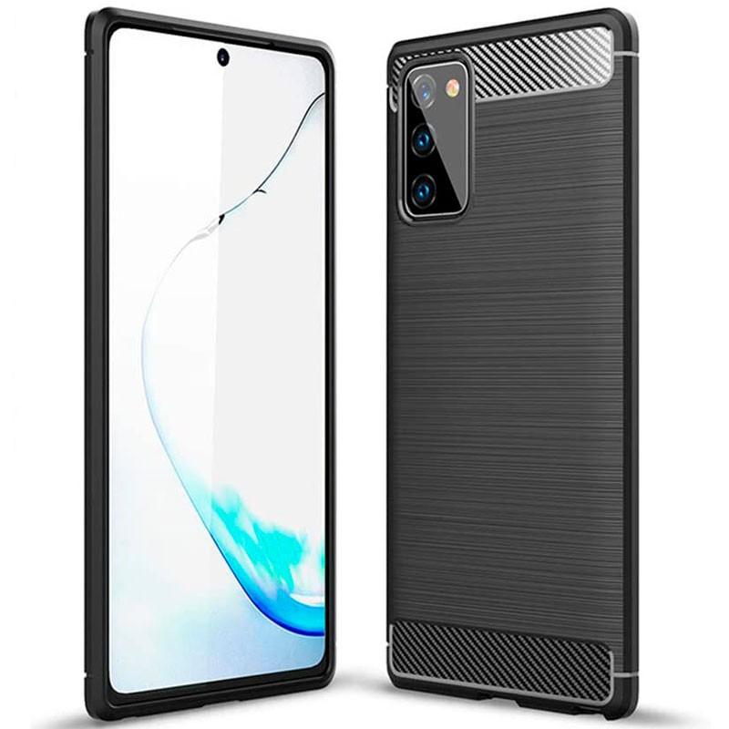 Θήκη TPU Ancus Carbon Series για Samsung SM-N981B Galaxy Note 20 5G Μαύρη
