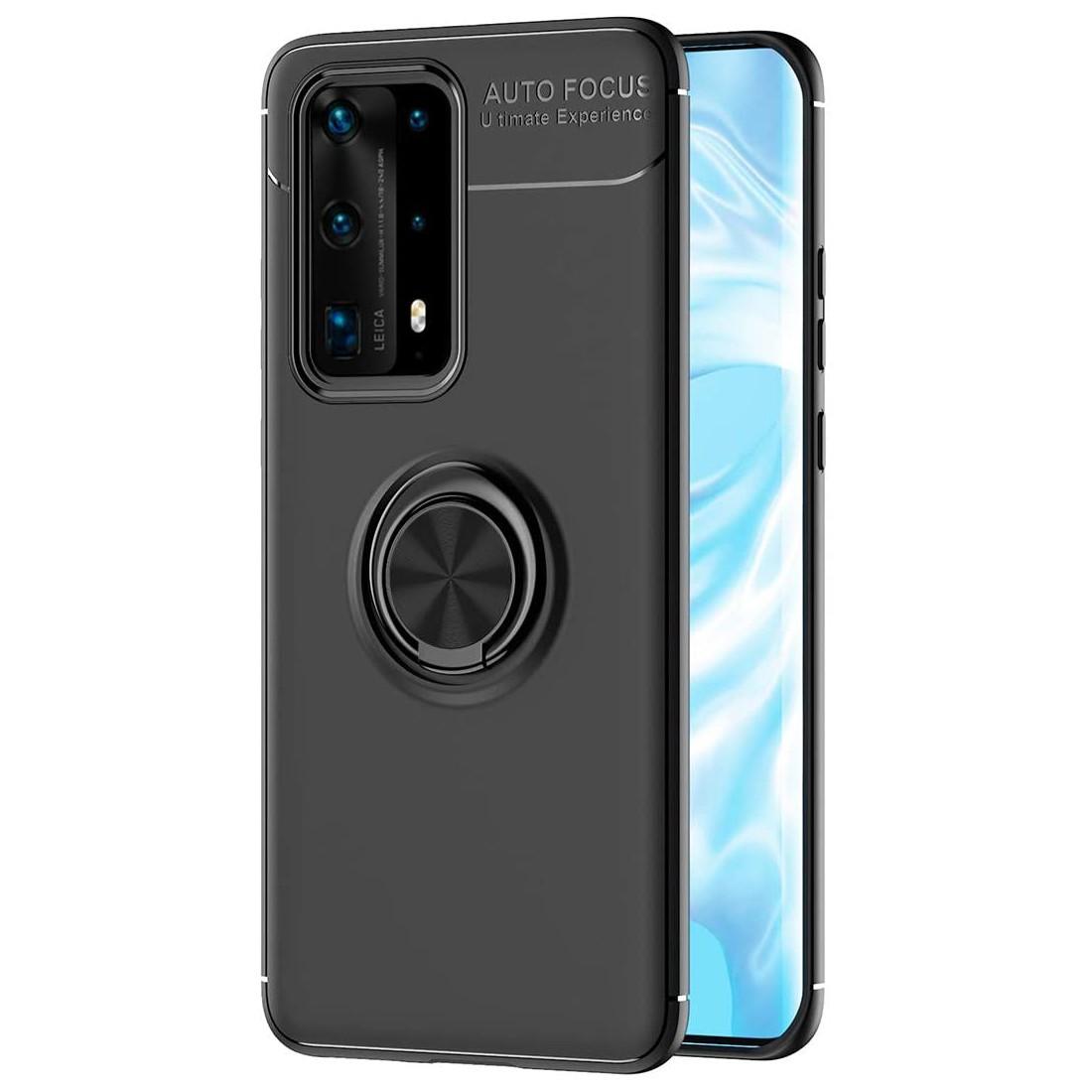 Θήκη Ancus Autofocus Shockproof με Ring Holder για Huawei P40 Pro Μαύρη
