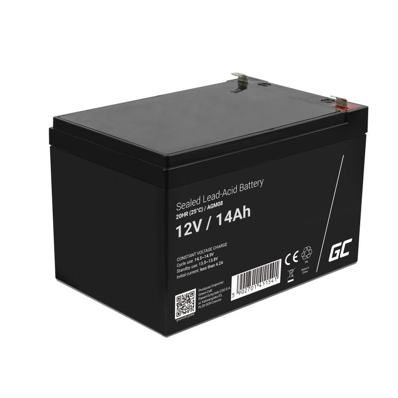 Μπαταρία για UPS Green Cell AGM08 AGM (12V 14Ah) 4,2 kg 151mm x 98mm x 94mm