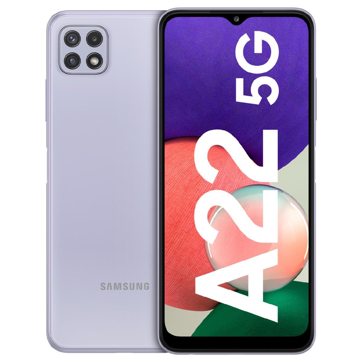 Samsung SM-A226B Galaxy A22 Dual Sim 6.6'' 5G 4GB/128GB NFC  Μωβ
