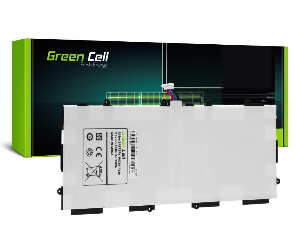 Μπαταρία Green Cell TAB04 Τύπου Samsung Galaxy Tab 3 10.1 P5210 / P5200 3.8V 6800mAh