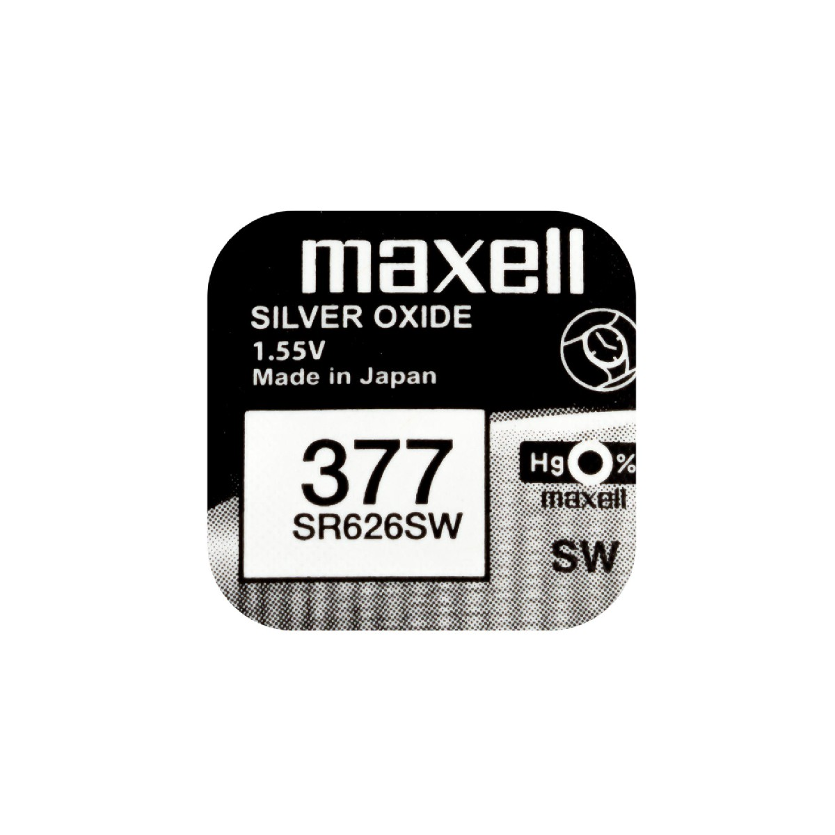 Buttoncell Maxell 377 / SR626SW Τεμ. 1