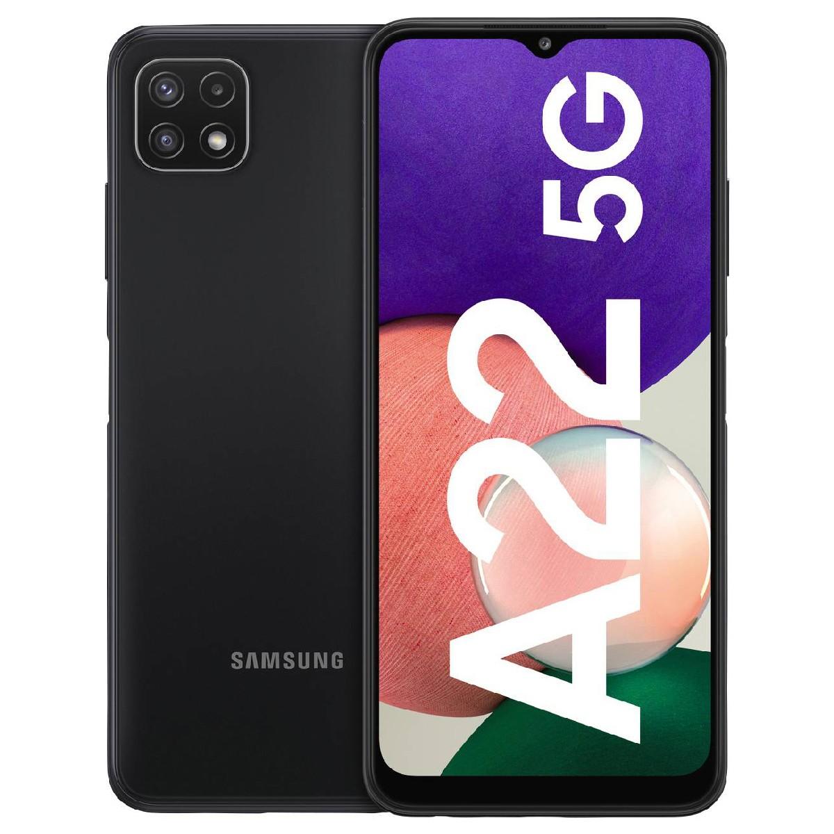 Samsung SM-A226B Galaxy A22 Dual Sim 6.6'' 5G 4GB/64GB NFC Γκρί