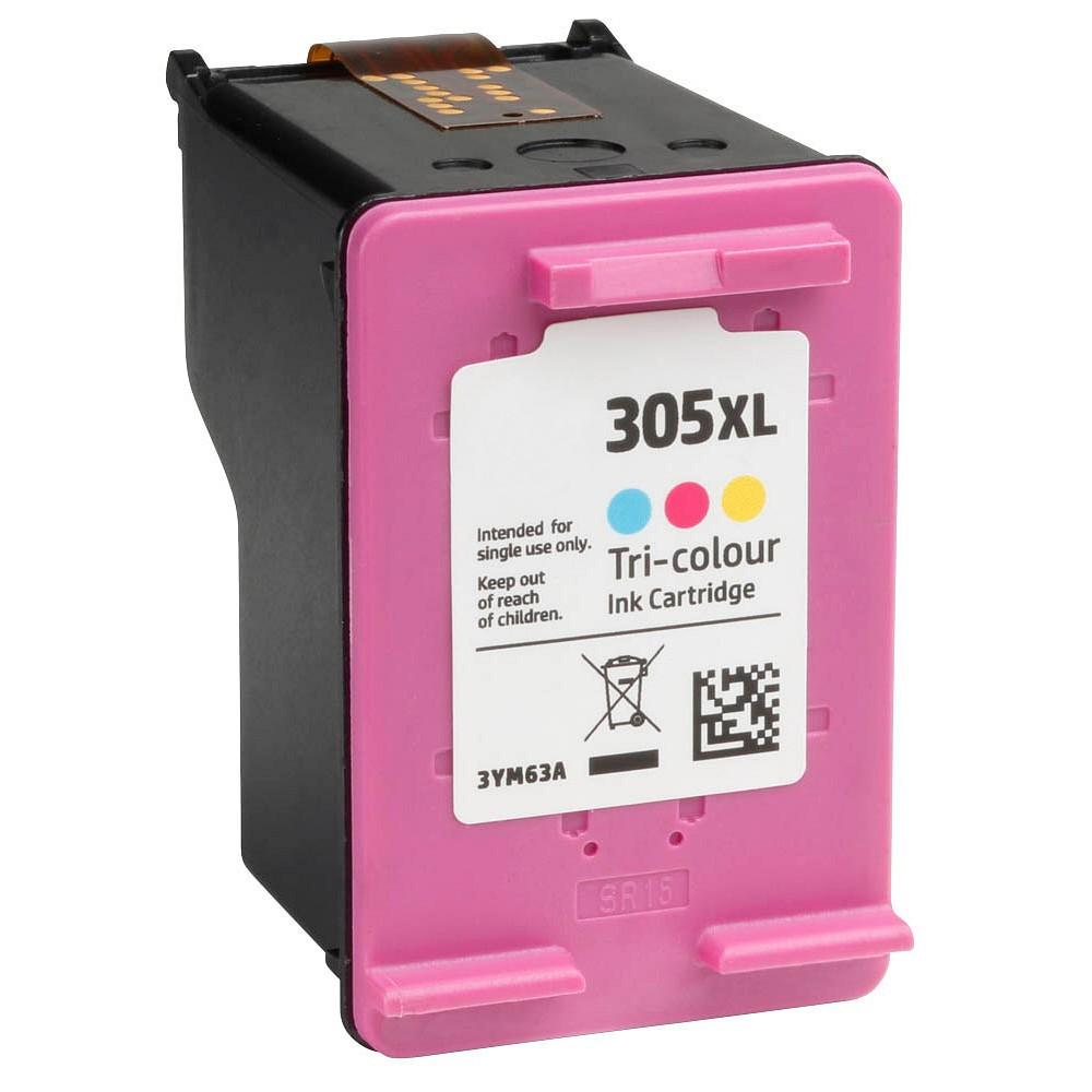 Μελάνι HP Συμβατό 305XL Σελίδες:375 Colour για Deskjet, Deskjet Plus, ENVY, ENVY PRO, 2320, 2710, 2720, 2721, 2722, 2723