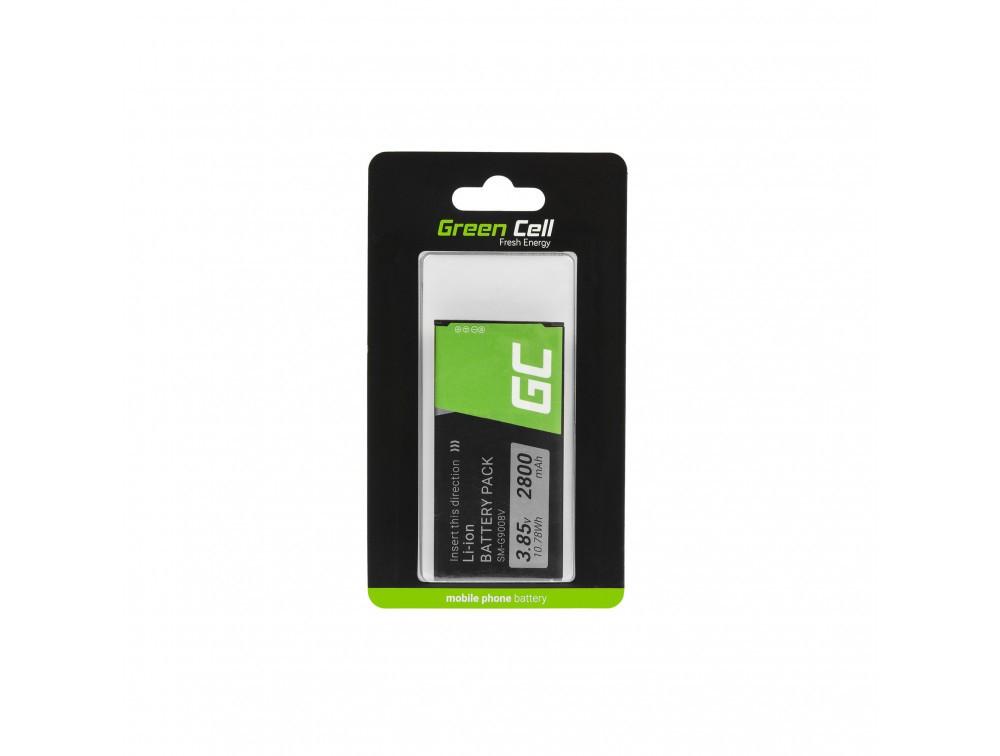 Μπαταρία  Green Cell BP50 Τύπου Samsung EB-BG900BBC για Galaxy S5 με Ταινία Διπλής Όψεως 3.85V 2800mAh