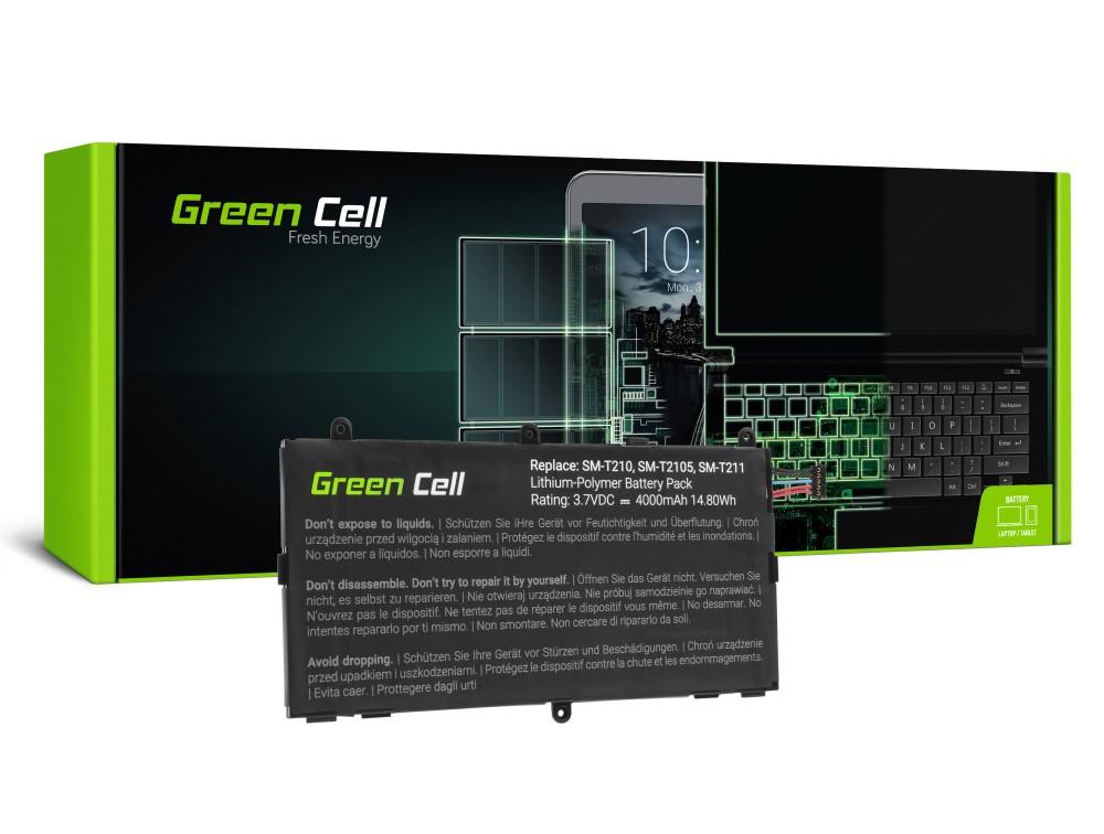 Μπαταρία Green Cell TAB36 Τύπου T4000E Samsung Galaxy Tab 3 7.0 P3200 T210 T211 3.7V 4000 mAh