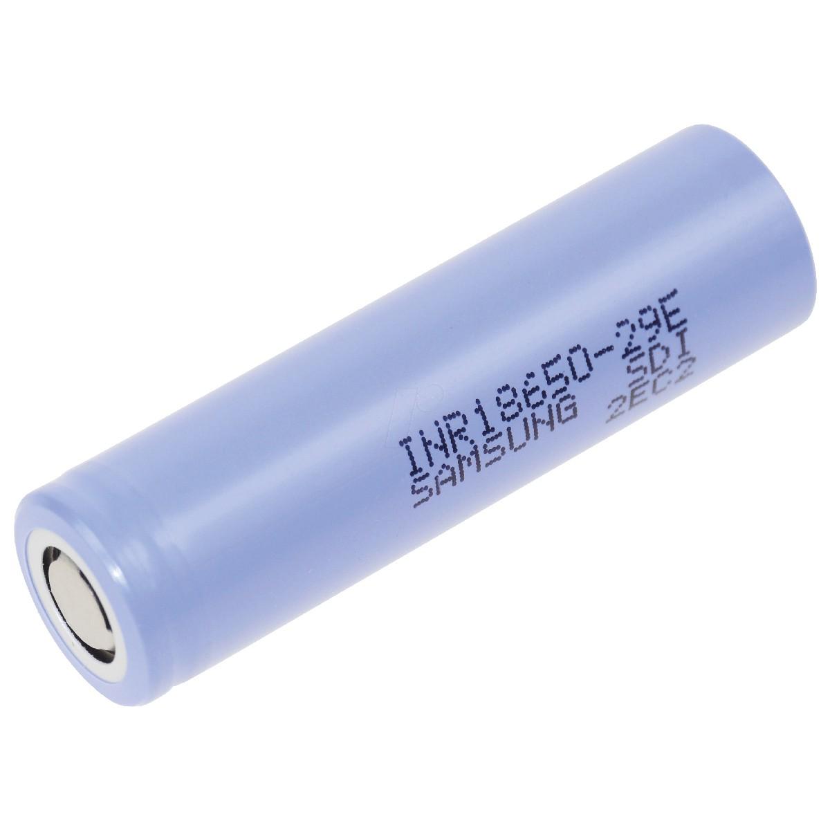 Επαναφορτιζόμενη Μπαταρία Βιομηχανικού Τύπου Samsung 18650 INR18650-29E 2850mAh  Li-ion 3,65V 2850mAh 8,25A