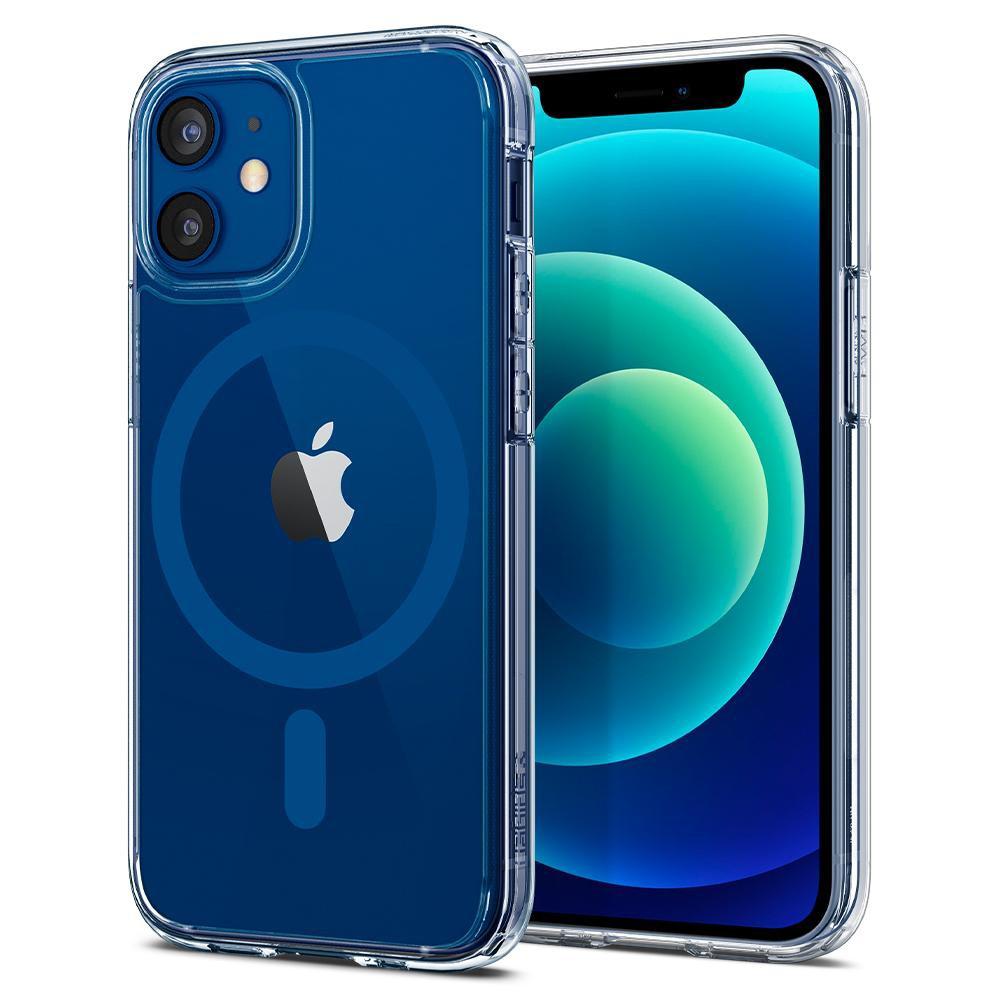 Θήκη Spigen Ultra Hybrid Mag Magsafe Back Cover για Apple iPhone 12 / iPhone 12 Pro Μπλε
