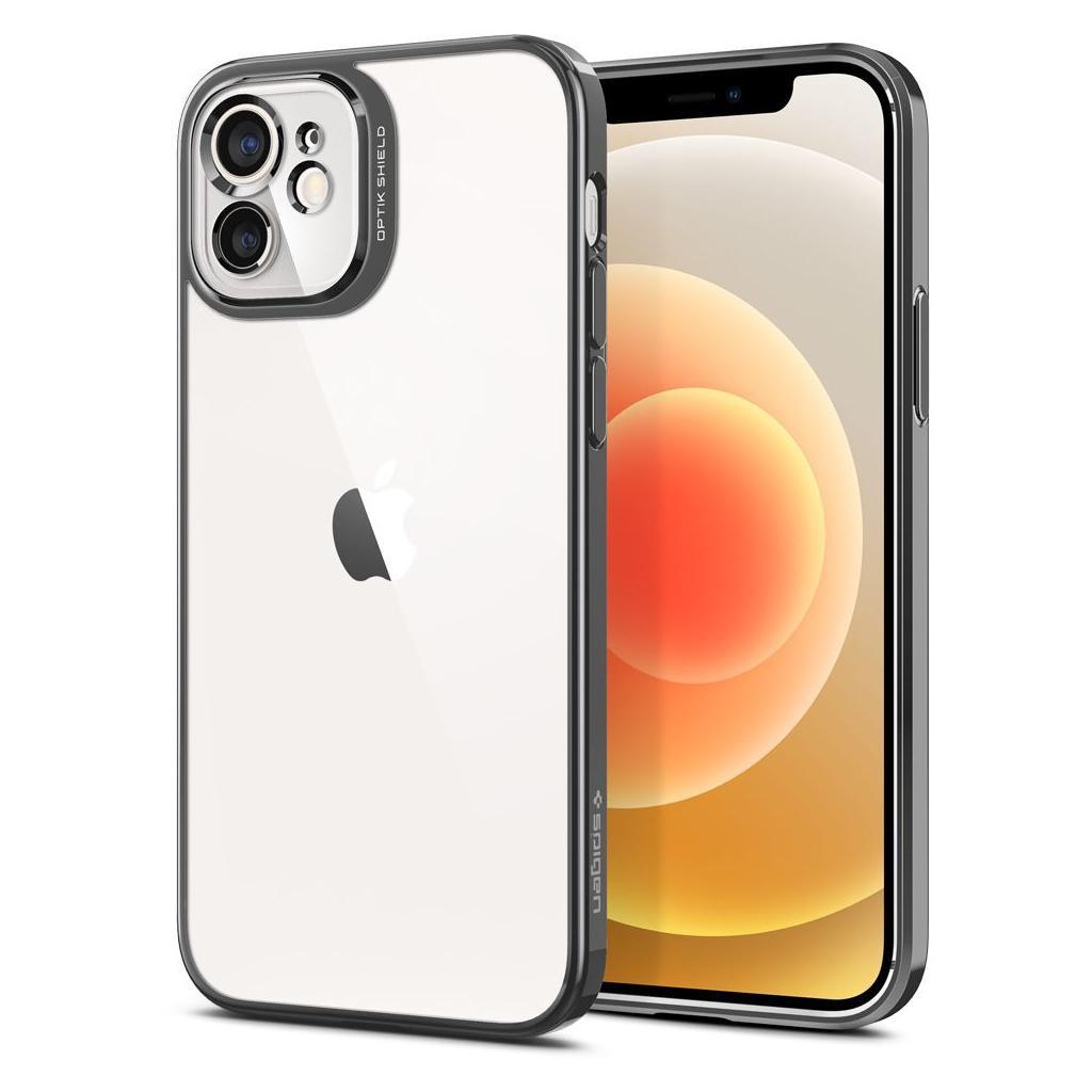 Θήκη Spigen Optic Crystal Back Cover για Apple iPhone 12 Γκρι