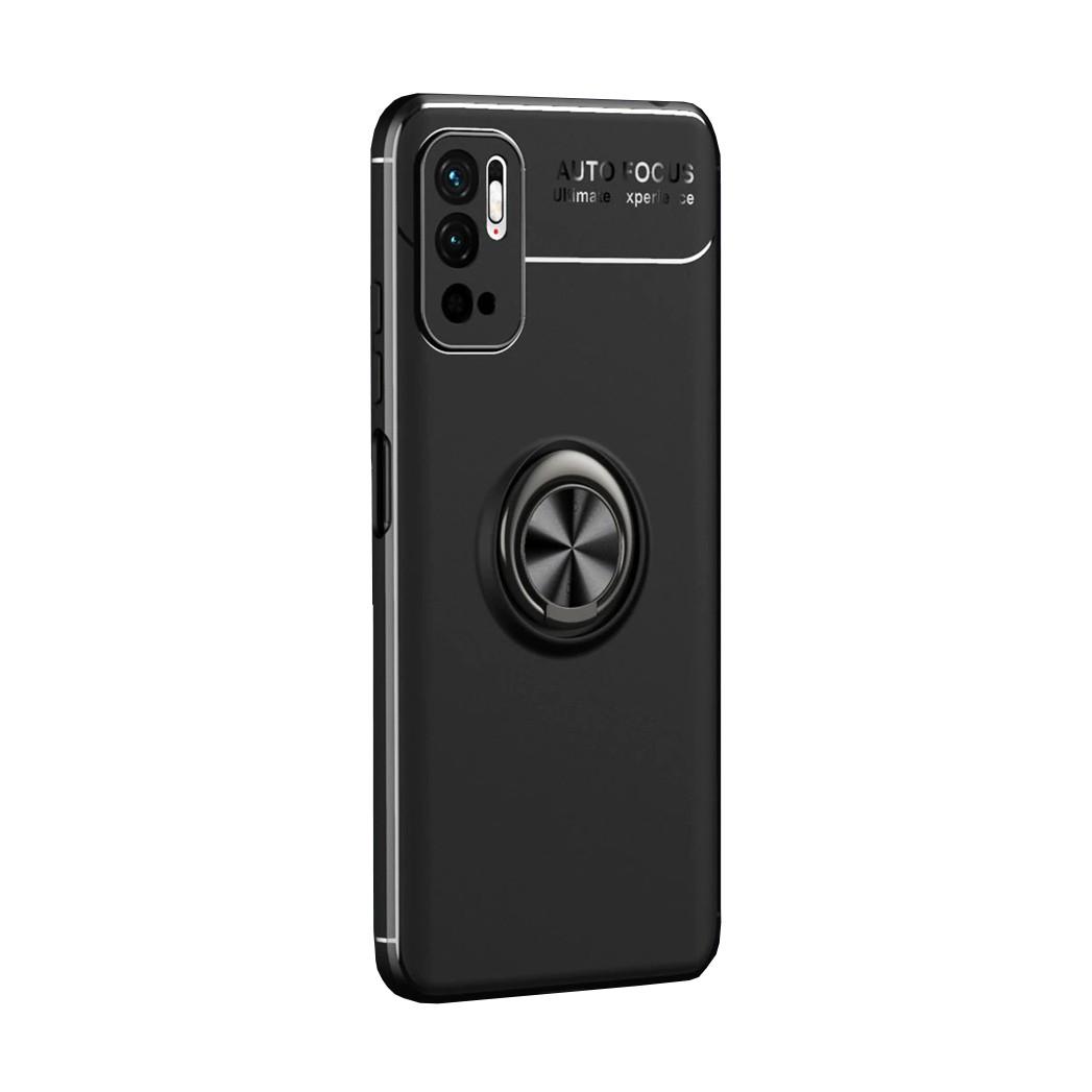 Θήκη Ancus Autofocus Shock Proof με Ring Holder για Xiaomi Poco M3 Pro 5G Μαύρη