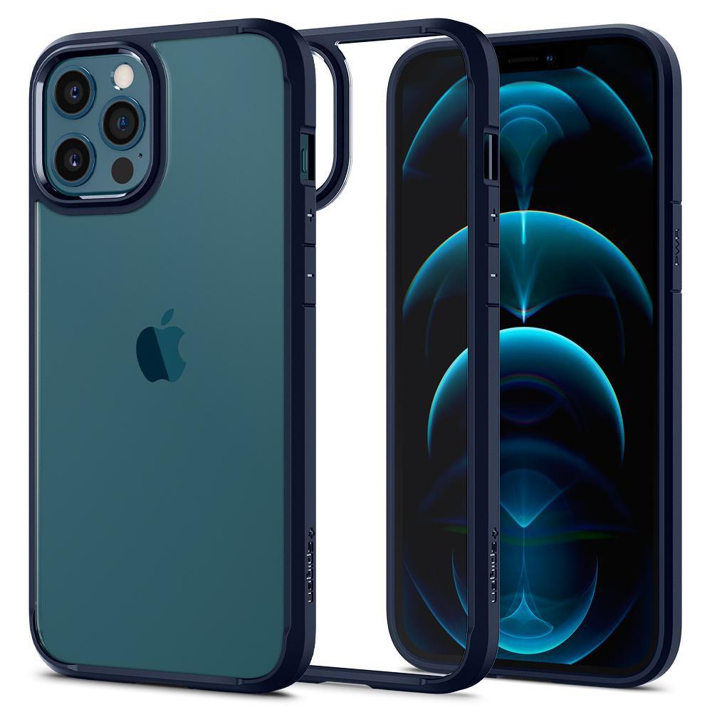 Θήκη Spigen Ultra Hybrid Back Cover για Apple iPhone 12 Pro Max Μπλε