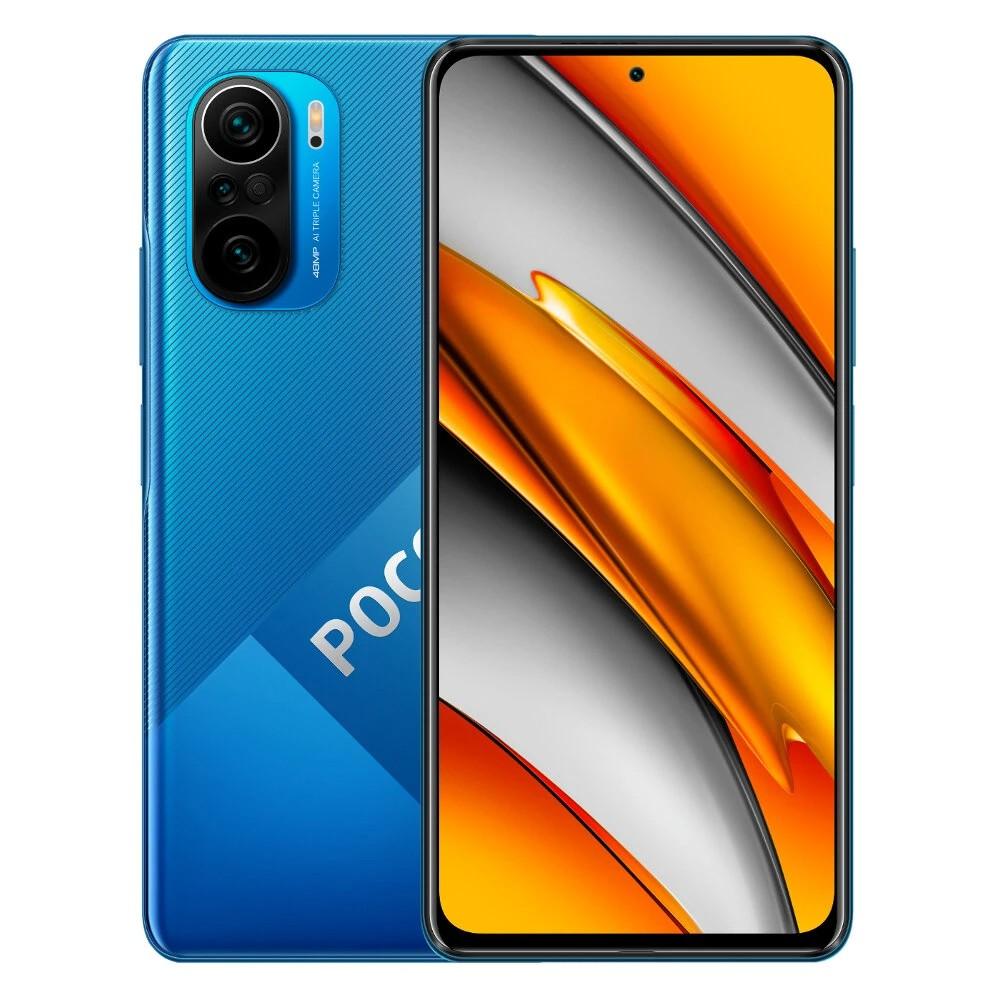 """Xiaomi Poco F3 Dual Sim 6.67"""" 6GB/128GB 5G NFC Μπλέ"""