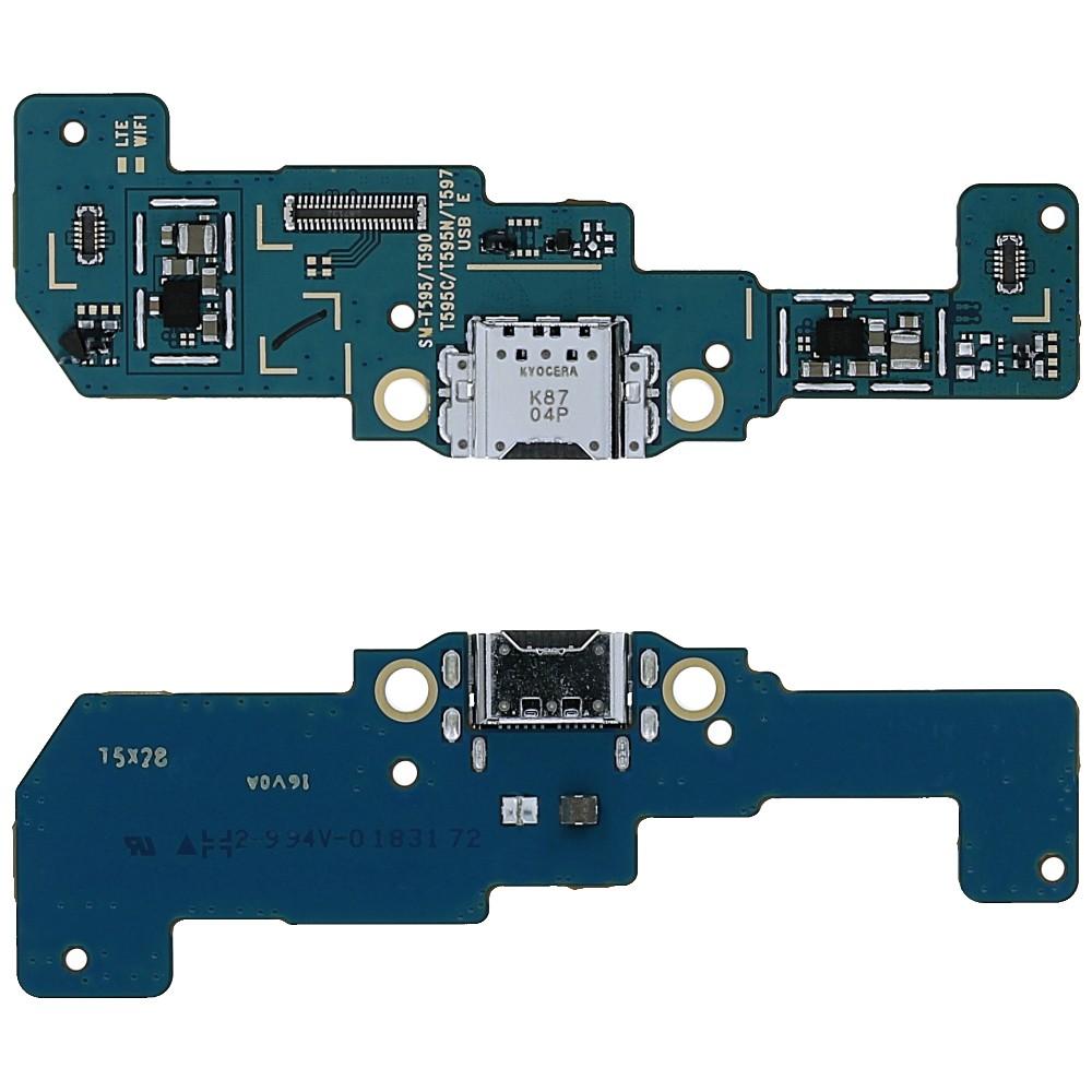 Επαφή Φόρτισης Samsung SM-T590 Galaxy Tab A 10.5 WiFi - USB Type-C με Πλακέτα  GH82-17352A Original