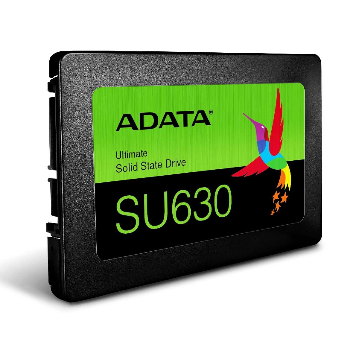 """Σκληρός Δίσκος ADATA ULTIMATE SU630 3D NAND 2.5"""" SATA III 480GB SSD"""