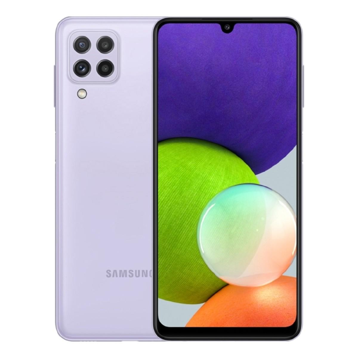 Samsung SM-A225F Galaxy A22 Dual Sim 6.4'' 4G 4GB/64GB Μωβ