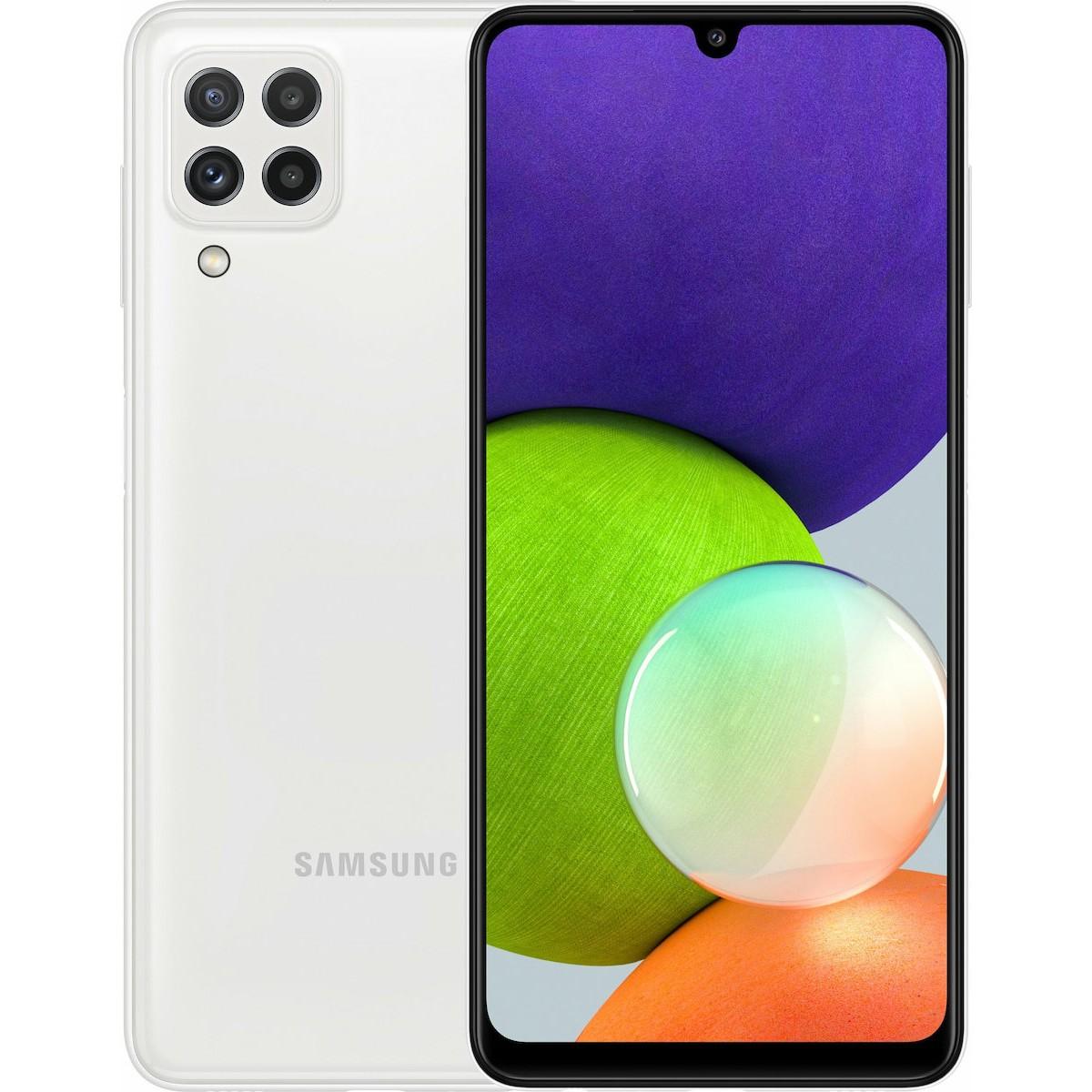 Samsung SM-A225F Galaxy A22 Dual Sim 6.4'' 4G 4GB/64GB Λευκό