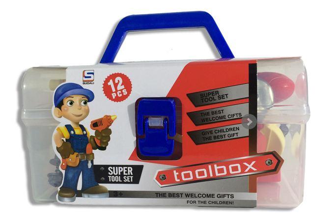 Εργαλειοθήκη με 12 Εργαλεία για Παιδιά