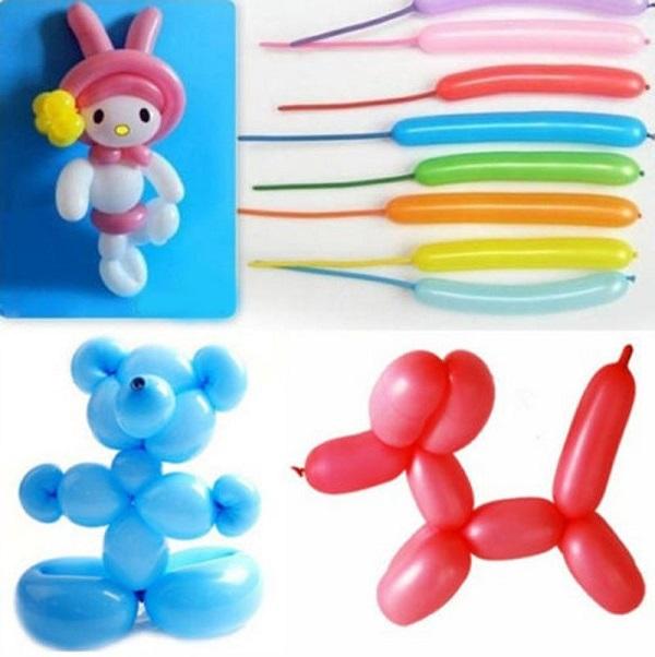Σετ 20 Μακρόστενα Μπαλόνια Μοντελισμού + Τρόμπα OEM