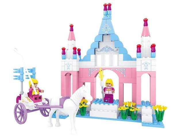 Τουβλάκια Πύργος του Βασιλιά OEM FairyLand 24502