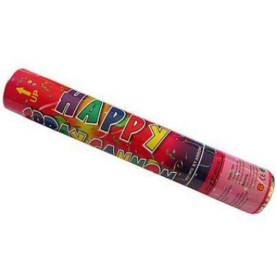 Κανονάκι Κομφετί Happy Spray Cannon 40cm