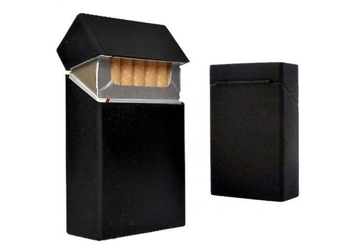 Θήκη Πακέτου Τσιγάρων από Σιλικόνη Μαύρη