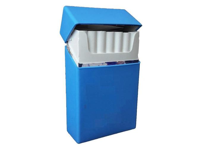 Θήκη Πακέτου Τσιγάρων από Σιλικόνη Μπλε