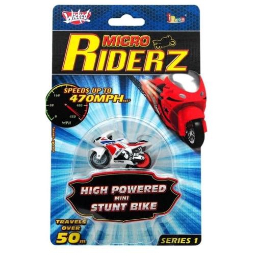 Micro Riderz - Wicked Micro Riderz Μοτοσυκλέτα με γυροσκοπικό σταθεροποιητή