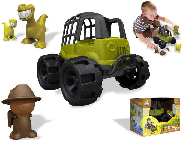 Sprig - Οικολογικό Τρακτέρ Ζούγκλας με Οδηγό και Δεινόσαυρους