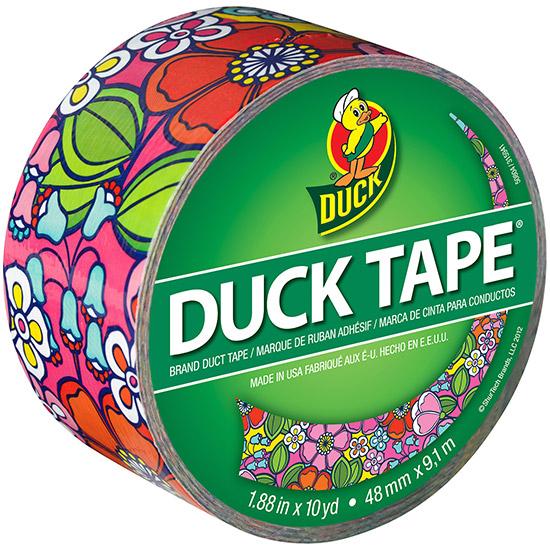 Duck Tape - Duck Tape Big Rolls Flower Power