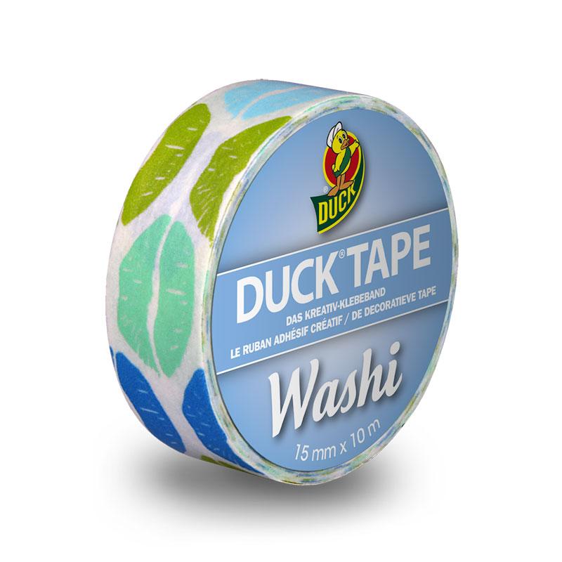 Duck Tape - Duck Tape Washi Aqua Kiss