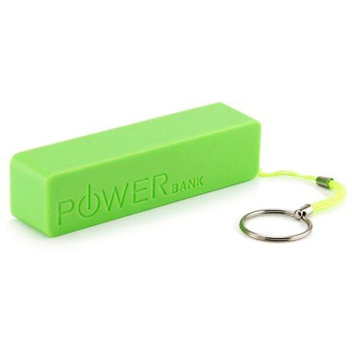 Blun Φορητή Μπαταρία Φόρτισης Portable Power Bank USB 2600mAh Green