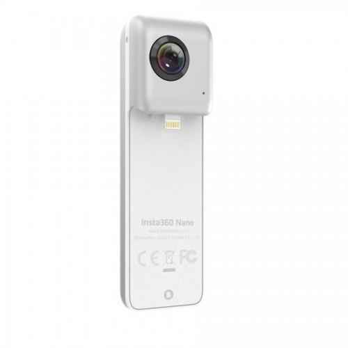 Πανοραμική κάμερα Insta360 Nano για iPhone 7/6/6s & 7/6/6s Plus σε ασημί χρώμα
