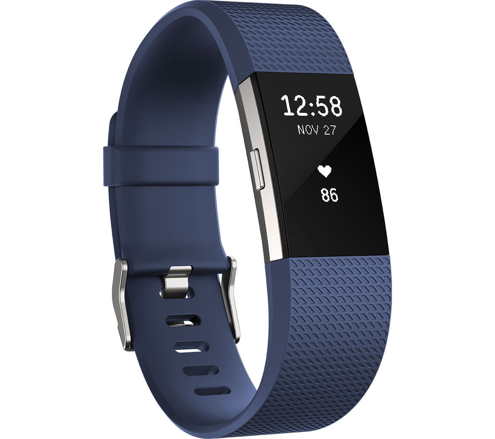 Fitbit Charge 2 Blue Silver
