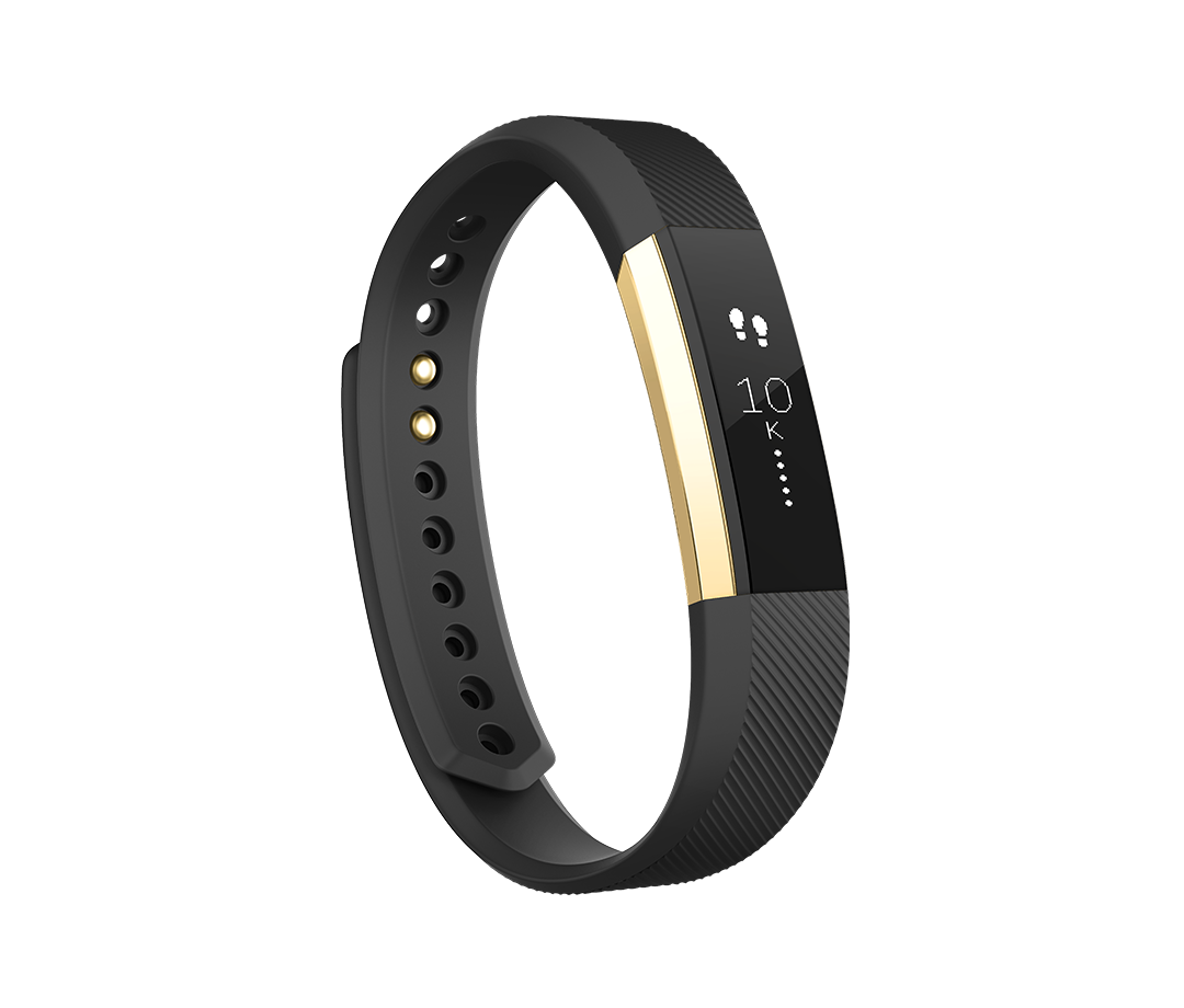 Fitbit Alta Black - Gold Special Edition
