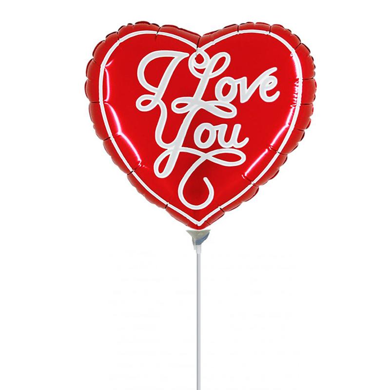 Μπαλόνι 9 ιντσών καρδιά I Love you Grabo ND
