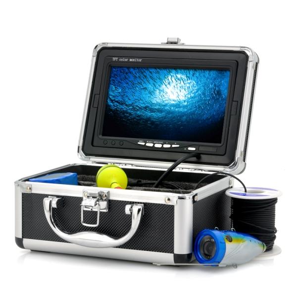 """Υποβρύχια κάμερα για ψάρεμα με οθόνη 7"""" και καλώδιο 20m"""
