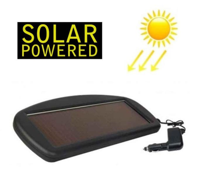 Ηλιακός φορτιστής μπαταρίας αυτοκινήτου, μηχανής, σκάφους 12V 1.8Watt